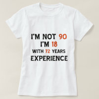 90th cool birthday designs T-Shirt