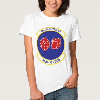 90th Fighter Squadron - Pair - O - Dice Shirt