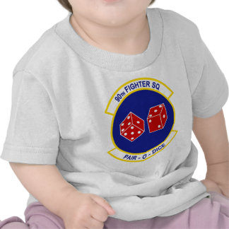90th Fighter Squadron - Pair - O - Dice Tshirts