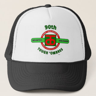 """90TH INFANTRY DIVISION """"TOUGH 'OMBRES"""" DIVISION TRUCKER HAT"""
