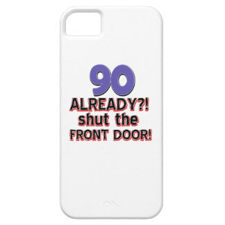 90th year birthday designs iPhone 5 cover