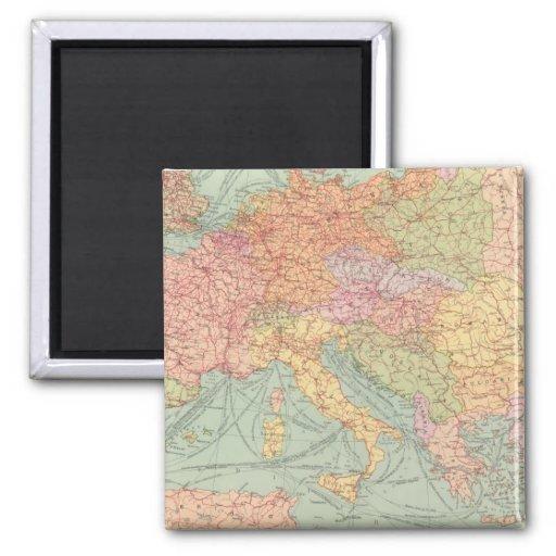910 líneas de comunicación, Europa Central Iman