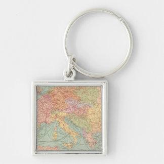 910 líneas de comunicación, Europa Central Llaveros Personalizados