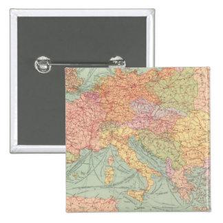 910 líneas de comunicación, Europa Central Pin Cuadrado