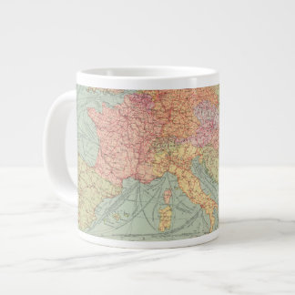 910 Lines of Communication, Central Europe Giant Coffee Mug