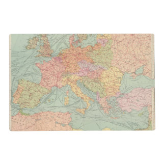910 Lines of Communication, Central Europe Placemat