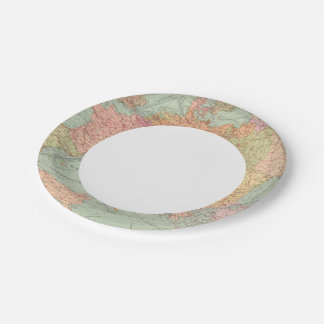 910 Lines of Communication, Central Europe 7 Inch Paper Plate