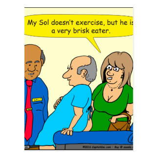 910 very brisk eater cartoon postcard