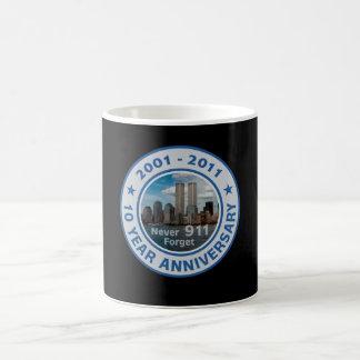 911 10 Year Anniversary Coffee Mug