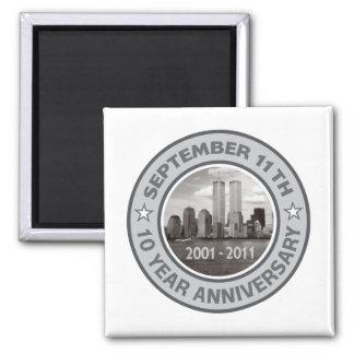 911 10 Year Anniversary Magnet