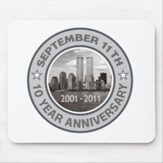 911 10 Year Anniversary Mouse Pad