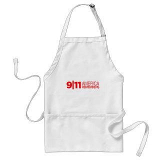 911 America Remembers Adult Apron