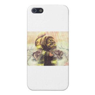 911 ángeles del bombero iPhone 5 carcasas