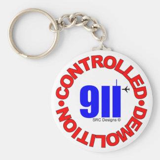 911 CONSPIRACY KEYCHAIN 9/11