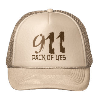 911 Conspiracy Trucker Hat