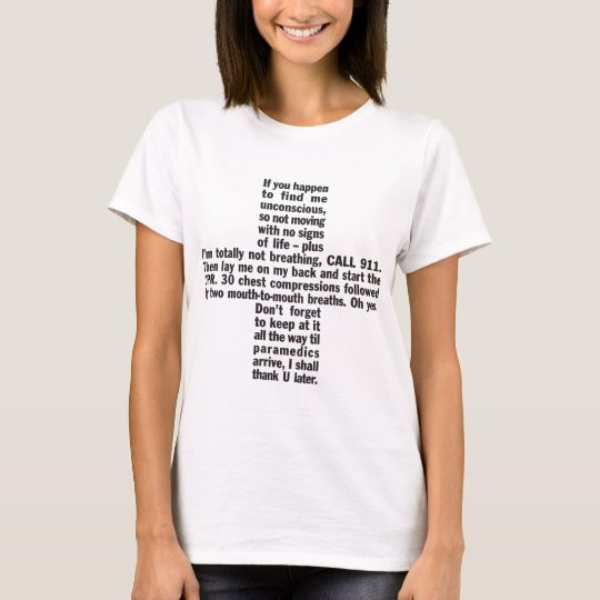911+CPR Women's Fitted T-shirt