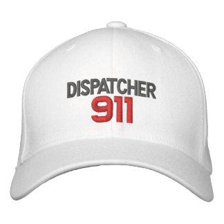 911, despachador gorra bordada