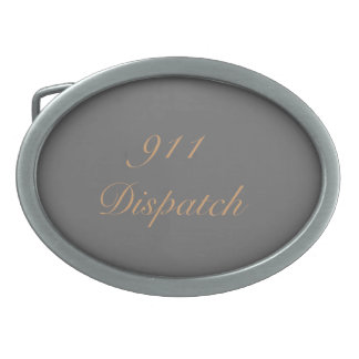 911 Dispatch Belt Buckle