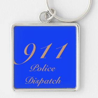 911 Dispatch Center Keychain
