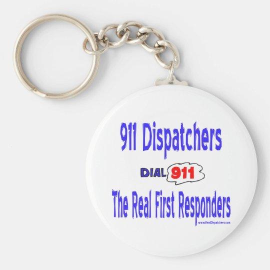 911 Dispatcher Keychain