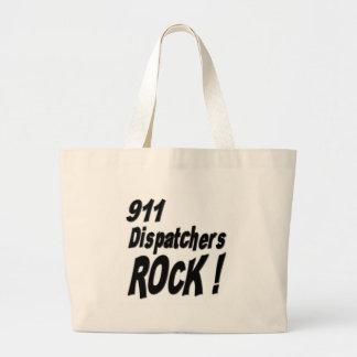 911 Dispatchers Rock! Tote Bag