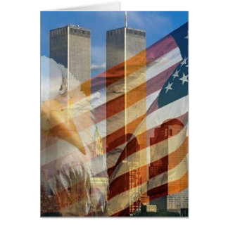 911 eagle flag towers card