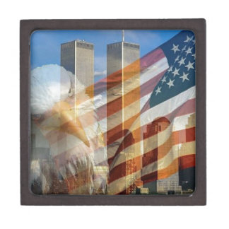 911 eagle flag towers gift box