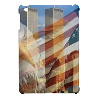 911 eagle flag towers iPad mini cover