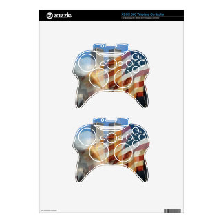 911 eagle flag towers xbox 360 controller skin