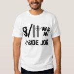 911 era la camiseta del trabajo interior playeras
