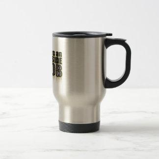 911 era un trabajo interior taza de café