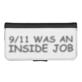 911 eran un trabajo interior, burbuja billeteras para teléfono