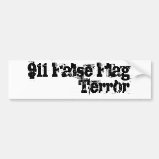 911 False Flag Terror Car Bumper Sticker