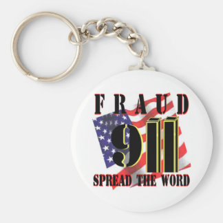 911 Fraud Key Chain
