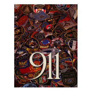 911 gifts and greetings postcard