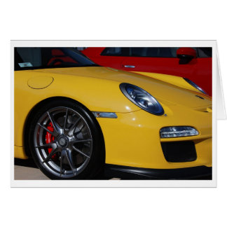 911 GT3 STATIONERY NOTE CARD