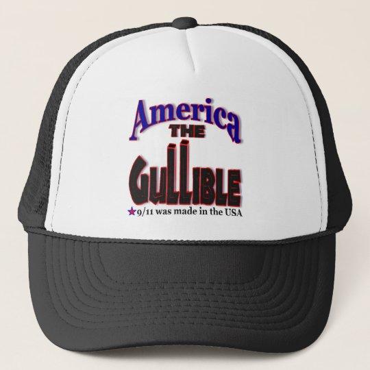 911 Gullible Trucker Hat