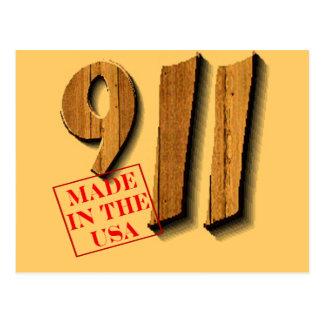 911 hizo en los E.E.U.U. Postales