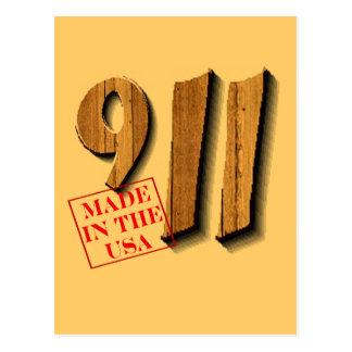 911 hizo en los E.E.U.U. Tarjetas Postales
