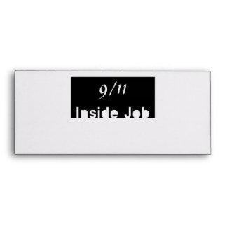911 inside job envelopes