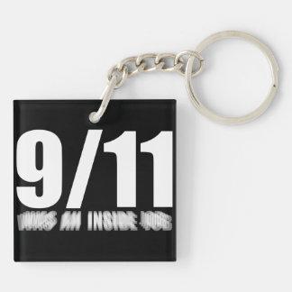 911 inside job keychain