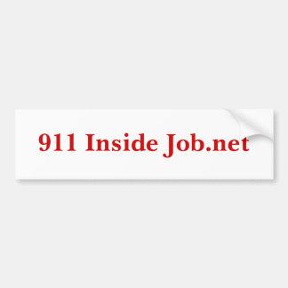 911 Job.net interiores Pegatina Para Auto
