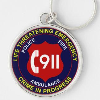 911 Keychain Police Fire Ambulance