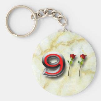 911 LLAVERO REDONDO TIPO PIN