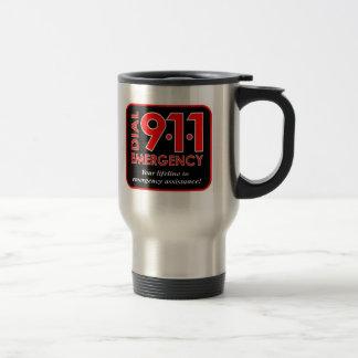"""911"""" marca taza del viaje de la emergencia 911"""""""