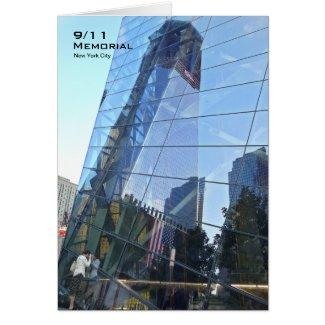911 Memorial NYC Blank Card CR7