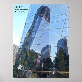 911 Memorial NYC Poster 18x24 CR7