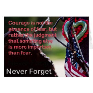 911 Never Forget Card