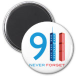 911 Never Forget Magnet