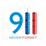 911 Never Forget Postcards